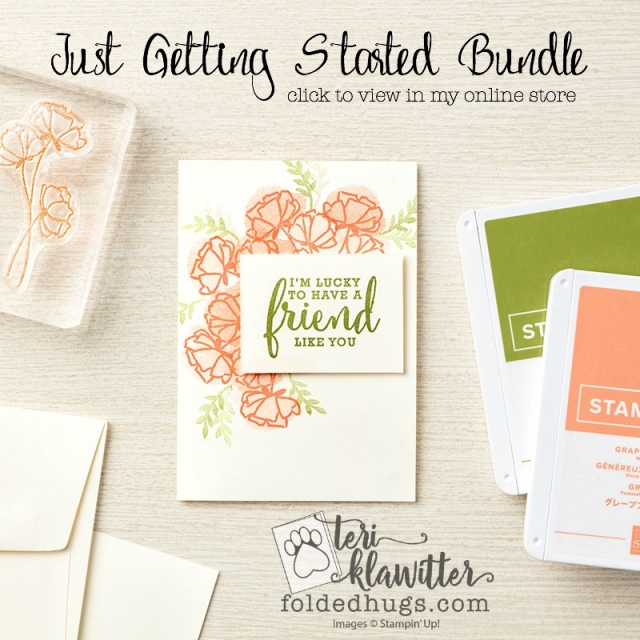 Share What You Love A Little More Please Bundle by Stampin' Up! 2018-2019 Annual Catalog Early Release #terriklatwitter
