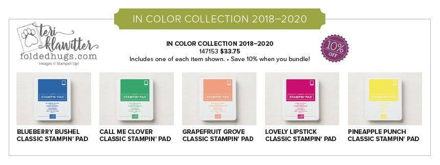 IN COLOR 2018-2020 COLLECTION