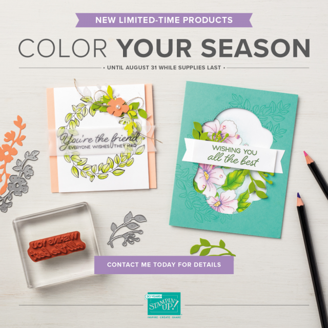 Color Your Season Samples