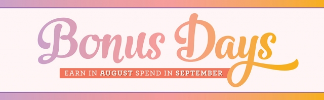 Bonus Days Are Back. Spend $50 Get $5