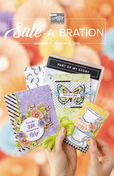 STAMPIN UP 2019 SALE-A-BRATION